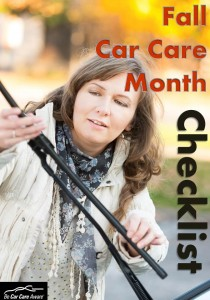 Fall Car Care checklist